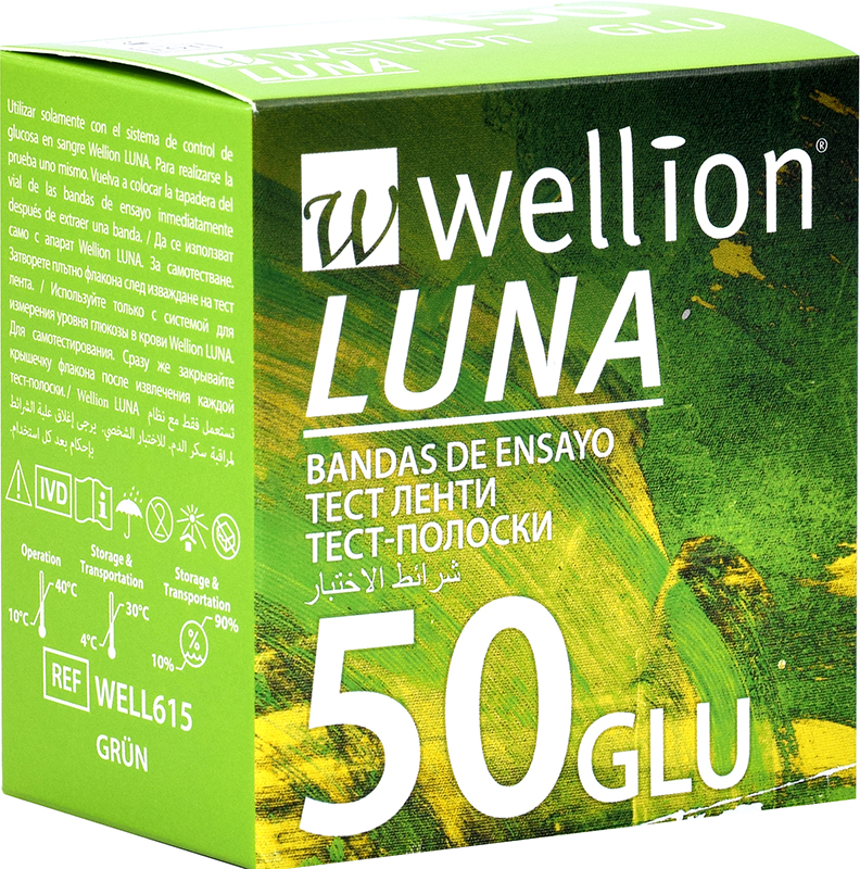 Тест ленти Wellion LUNA GLU
