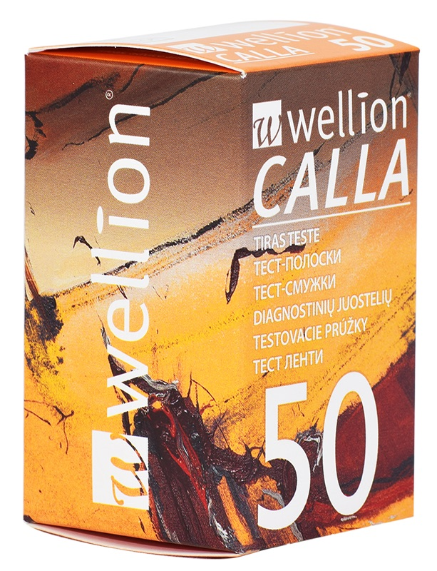 Тест лентите Wellion CALLA